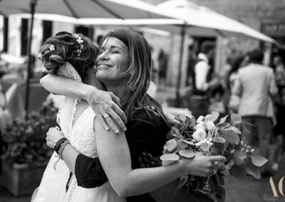 Francesca and the bride