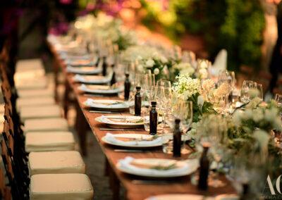 Wedding table villa sanGimignano