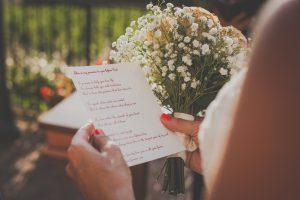 Tuscany wedding celebrants pledges officiate