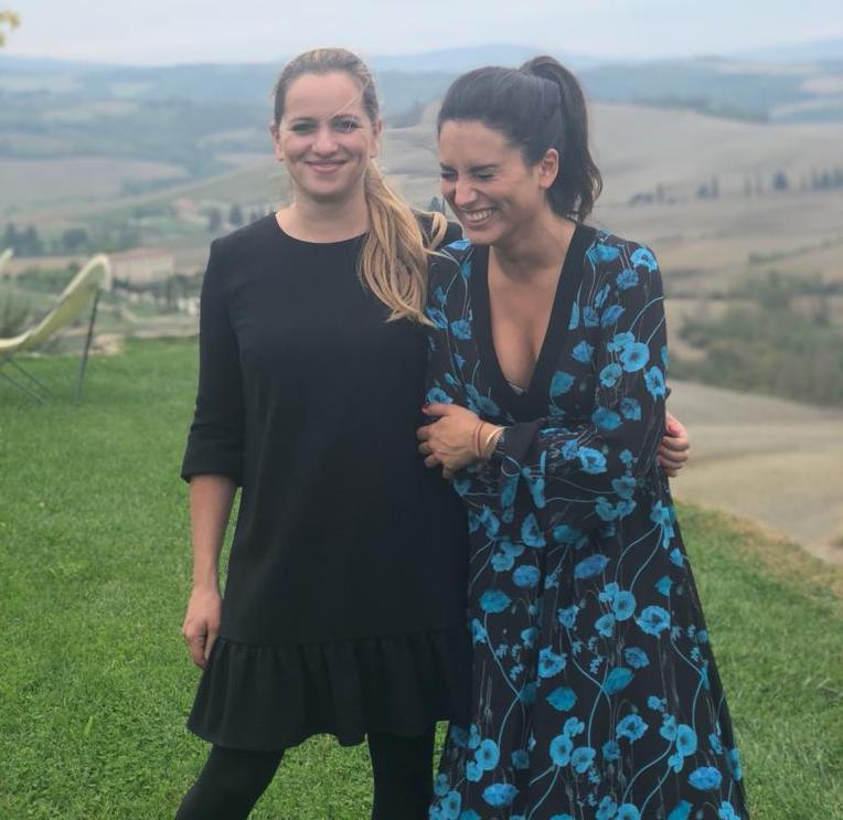 Elena and Silvia