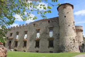 Castle garden view - Castle Wedding Tuscany_