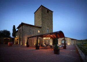 Villa Romance in chianti