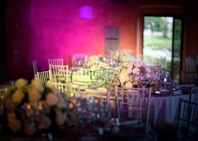 Wedding Flowers table centerpiece Meleto Andrea Corsi