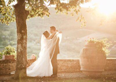 Wedding in a Tuscan castle Landscape Studio Bonon