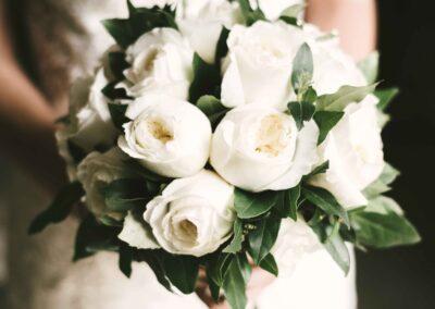 bouquet wedding white borgo santo pietro tuscany